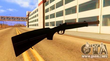 Atmosphere Rifle para GTA San Andreas segunda pantalla