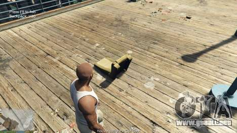 GTA 5 Fishing Mod 0.2.7 BETA octavo captura de pantalla