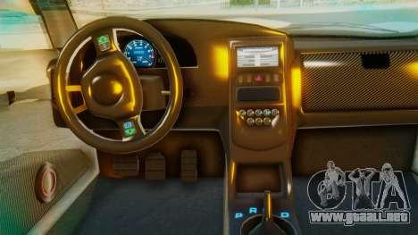 GTA 5 Pegassi Osiris IVF para visión interna GTA San Andreas