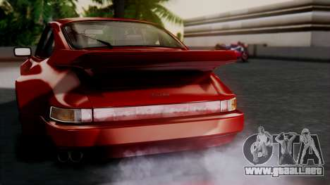 Porsche 911 Turbo (930) 1985 Kit A para GTA San Andreas interior