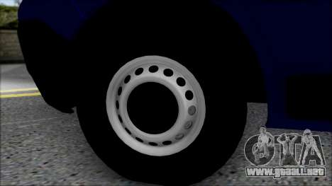 Opel Vivaro Policija para la visión correcta GTA San Andreas
