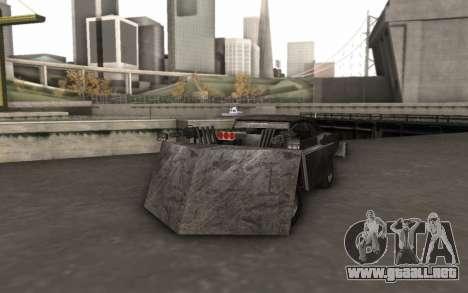 Dodge Charger Infernal Bulldozer para GTA San Andreas