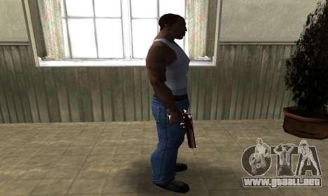 Redl Deagle para GTA San Andreas tercera pantalla