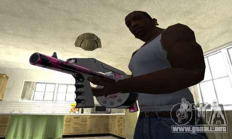 Granate Combat Shotgun para GTA San Andreas segunda pantalla