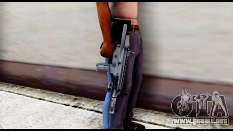 MK16 PDW Advanced Quality v1 para GTA San Andreas tercera pantalla