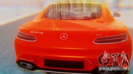 Mercedes-Benz SLS AMG GT para visión interna GTA San Andreas