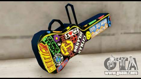 Guitar Case MG Colorful para GTA San Andreas segunda pantalla