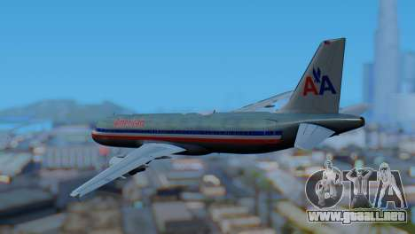 Airbus A320-200 American Airlines (Old Livery) para GTA San Andreas left