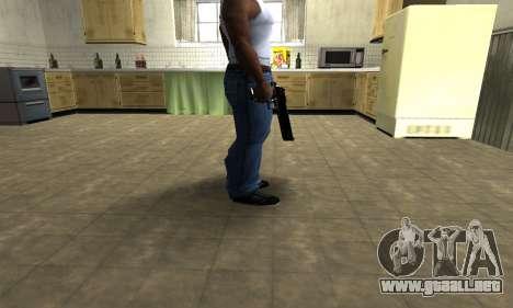 Black Cool Deagle para GTA San Andreas segunda pantalla