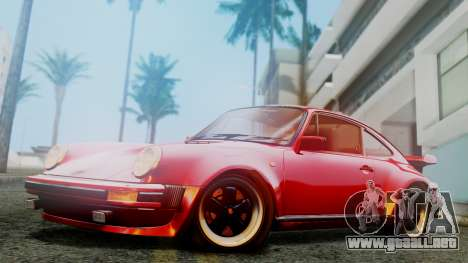 Porsche 911 Turbo (930) 1985 Kit A para GTA San Andreas left
