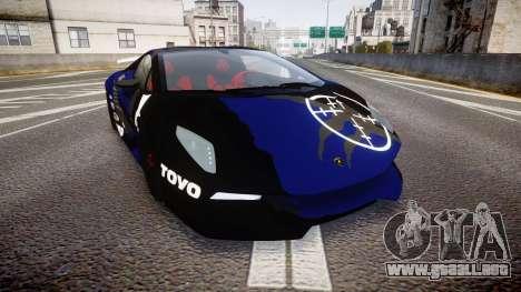 Lamborghini Sesto Elemento 2011 para GTA 4