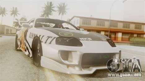 Toyota Supra Full Tuning para GTA San Andreas