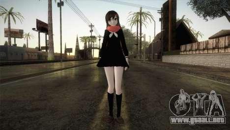 Tateyama Ayano (Kagerou Project) para GTA San Andreas segunda pantalla