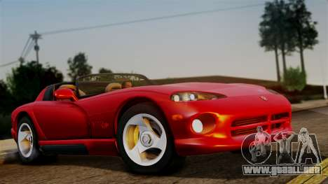 Dodge Viper RT 10 1992 para GTA San Andreas