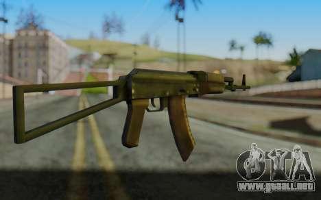AK-74P para GTA San Andreas segunda pantalla