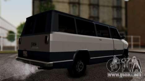 El Passa Van para GTA San Andreas left