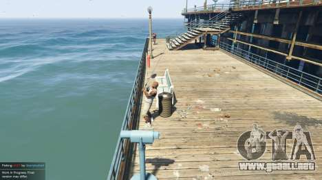 GTA 5 Fishing Mod 0.2.7 BETA tercera captura de pantalla