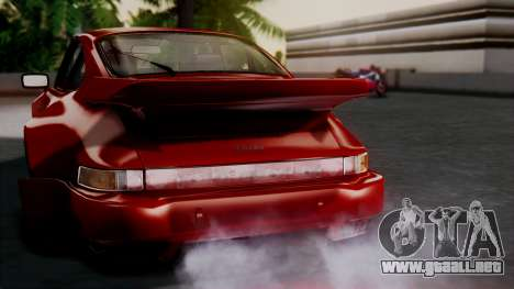 Porsche 911 Turbo (930) 1985 Kit A para el motor de GTA San Andreas