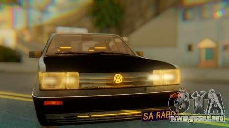 Volkswagen Santana Gz para GTA San Andreas vista hacia atrás
