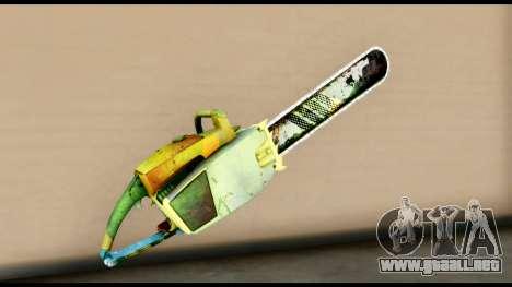 Brasileiro Chainsaw para GTA San Andreas segunda pantalla