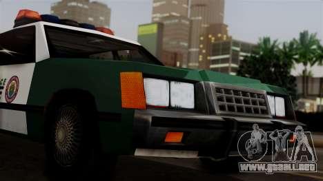 VCPD Cruiser para la visión correcta GTA San Andreas