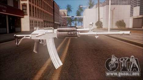 Galil AR v1 from Battlefield Hardline para GTA San Andreas