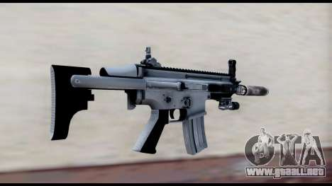 MK16 PDW Advanced Quality v1 para GTA San Andreas segunda pantalla