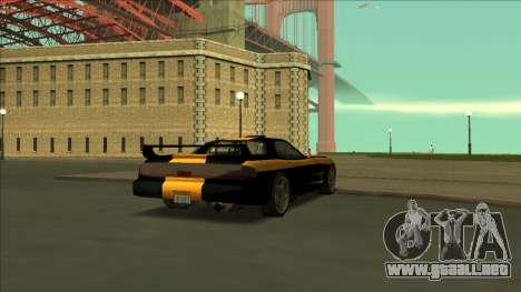 ZR-350 Road King para vista inferior GTA San Andreas