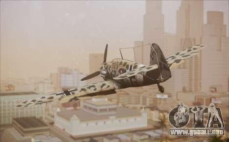 Messerschmitt BF-109 E3 para GTA San Andreas left