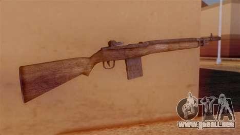 M14 Assault Rifle para GTA San Andreas segunda pantalla