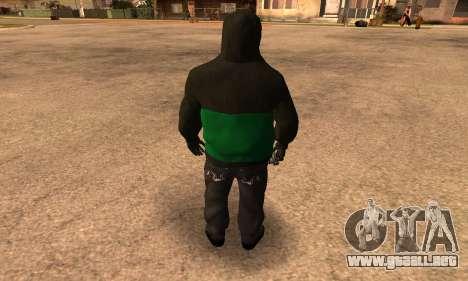 Fam Black para GTA San Andreas tercera pantalla