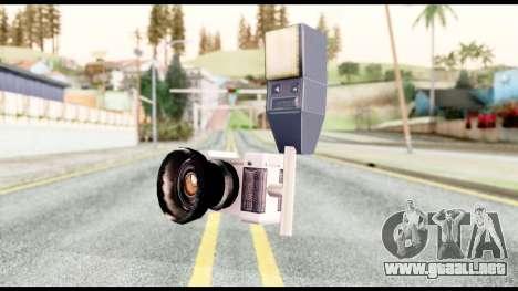 La cámara para GTA San Andreas