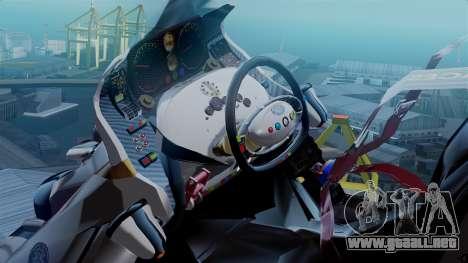 NRG Moto Jet Buzz Clean Model para GTA San Andreas vista posterior izquierda