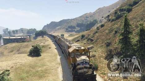 GTA 5 Improved freight train 3.8 sexta captura de pantalla