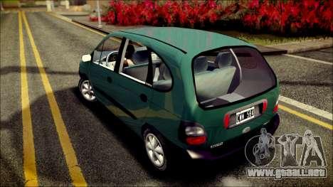 Renault Megane Scenic para GTA San Andreas vista posterior izquierda