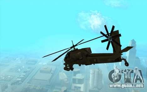 Hunter из Vice City para la visión correcta GTA San Andreas