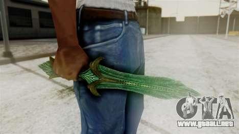 Glass Dagger para GTA San Andreas segunda pantalla
