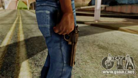 Colt Revolver from Silent Hill Downpour v1 para GTA San Andreas tercera pantalla