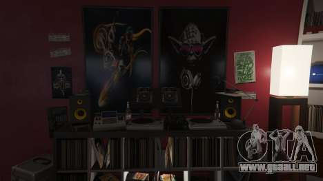Star Wars Posters for Franklins House 0.5 para GTA 5