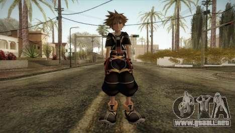 Kingdom Hearts 2 - Sora para GTA San Andreas segunda pantalla