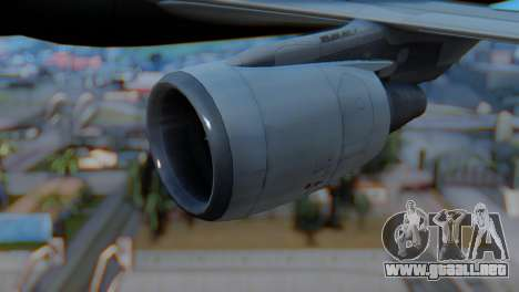 Airbus A320-200 American Airlines (Old Livery) para la visión correcta GTA San Andreas