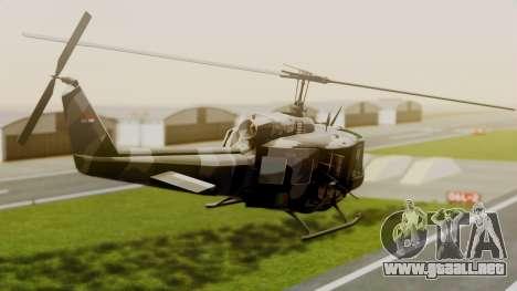 Bell UH-1 Paraguay para GTA San Andreas left