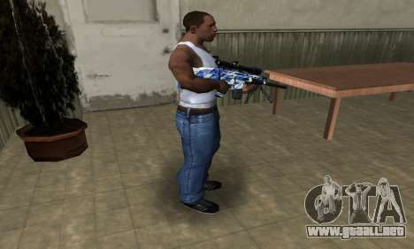 Mount Sniper Rifle para GTA San Andreas tercera pantalla