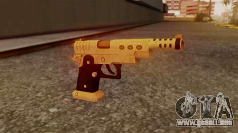Chrome Hammer Pistol para GTA San Andreas