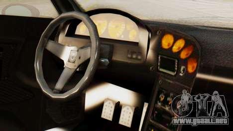 Pegassi Osyra Extra 2 para la visión correcta GTA San Andreas