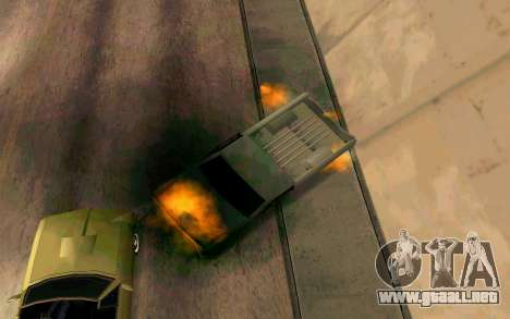 Burning car mod from GTA 4 para GTA San Andreas sexta pantalla