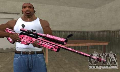 Lamen Sniper para GTA San Andreas