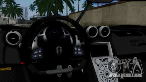 NFS Rivals Koenigsegg Agera R v3.0 para la visión correcta GTA San Andreas