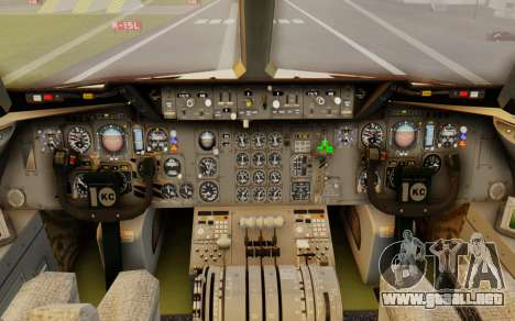 DC-10-30 Biman Bangladesh Airlines para la visión correcta GTA San Andreas