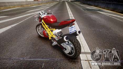 GTA V Principe Lectro para GTA 4 Vista posterior izquierda